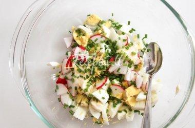 Ypatingosios kiaušinių salotos