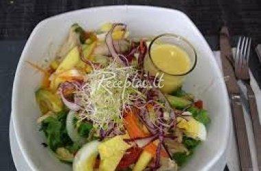 Dilgėlių salotos su kiaušiniu