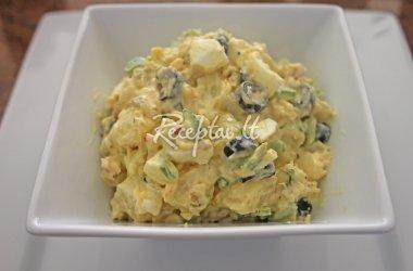 Grybų salotos su daržovėmis