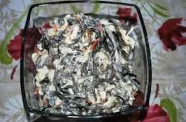 Jūros kopūstai su džiovintais grybais
