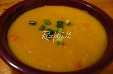 Žirnių sriuba lenkiškai