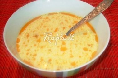 Itališka svogūnų sriuba