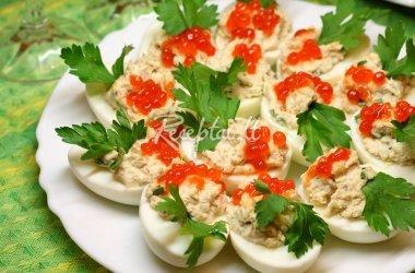 Šventinė kiaušinių užkandėlė