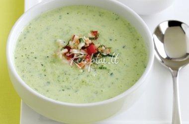 Arvydo gaspačio – šalta daržovių sriuba