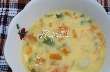 Burnočių sriuba