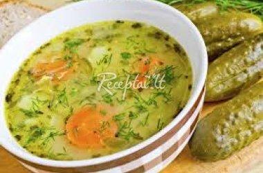 Paprasta daržovių sriuba