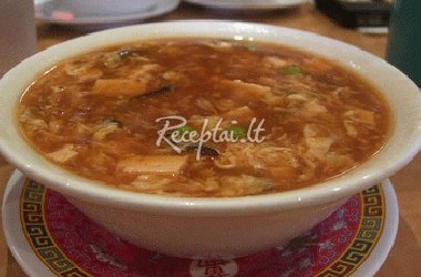 Kinietiška grybų sriuba