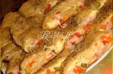 Sluoksniuotos tešlos sumuštiniai
