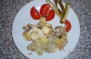 Faršo apkepas su daržovėmis