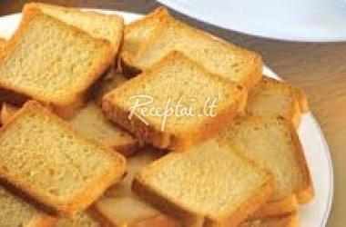 Kepta duona su įmantriu padažu