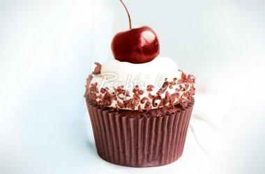 Šokolado keksiukai su vyšnaitėmis