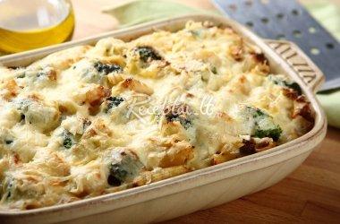 Apkepas su sūriu ir brokoliais