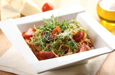 Spagečiai pomidoro