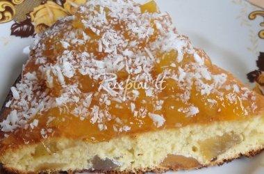 Pyragas su persikais