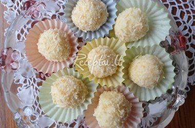 Saldainiai su maskarponės sūriu