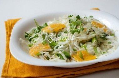 Daržovių ir vaisių salotos