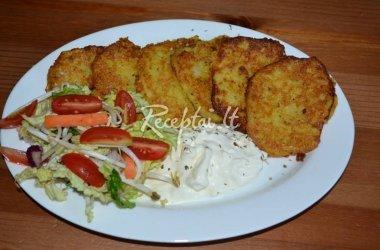 Bulvių ir morkų blyneliai