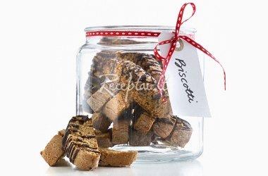 Sausainių mišinys stiklainyje