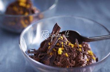 Šokoladiniai ir apelsininiai naminiai ledai