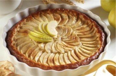 Paprastas obuolių pyrgas