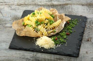 Fusilli makaronai su Prancūzišku daržovių mišiniu
