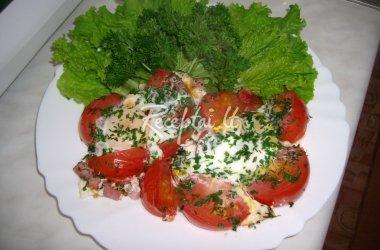 Karališka kiaušinienė su pomidorais