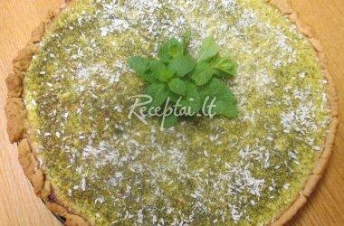 Pavasariškai žalias pyragas