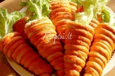 Velykinės morkytės