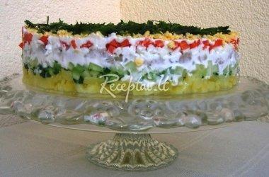 "Baravykų salotos ""Margos"" su majonezu"