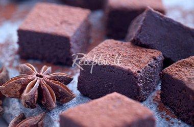 Šokoladiniai triufeliai su žvaigždiniais anyžiais