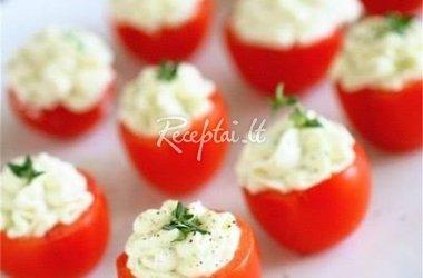 Vyšninių pomidorų užkandėlė