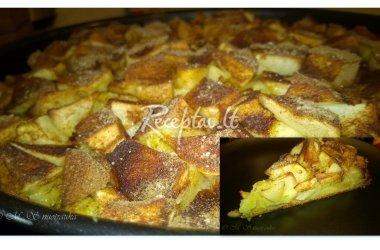 Dieviškas obuolių pyragas