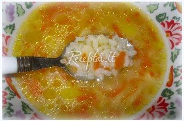 Ryžių sriuba vakarui