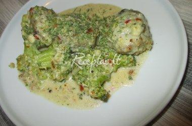Kotletukai su padažu su brokoliais